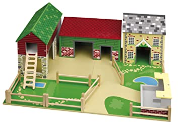 Tidlo - Casa de juguete para interiores (John Crane): Tidlo Old Field Farm: Amazon.es: Juguetes y juegos
