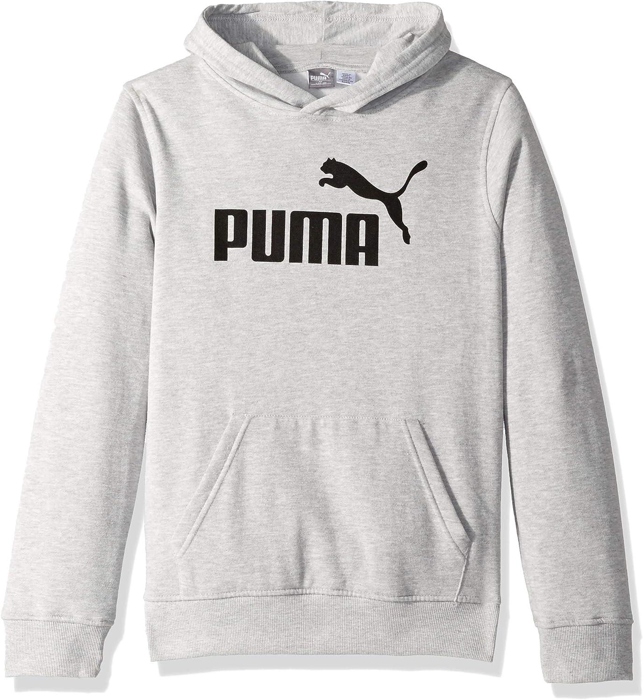 PUMA Big Boys Full-Zip Fleece Hoodie