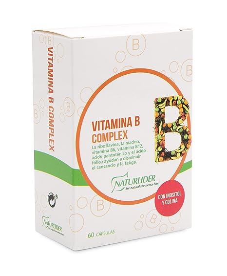 Naturlider Vitamina B Complex 60 Capsulas - 60 Cápsulas