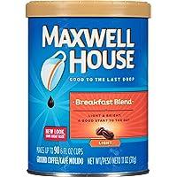 Deals on 3PK Maxwell House Breakfast Blend Light Roast Coffee 11oz