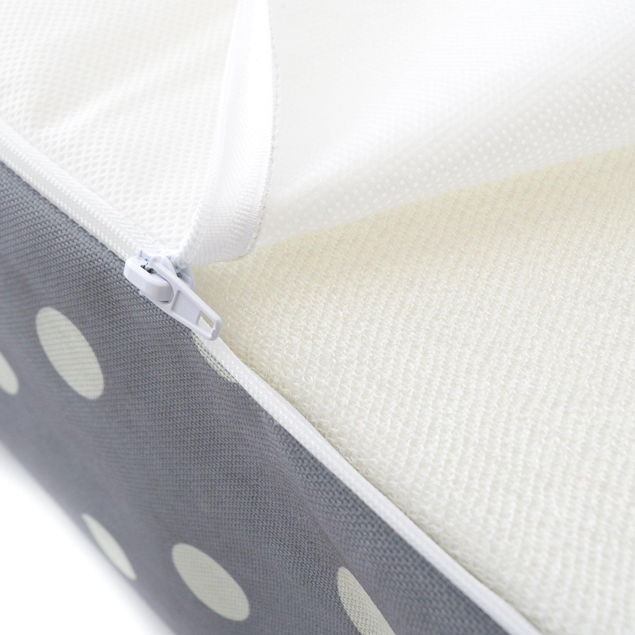 Milliard Crib Mattress and Toddler Bed Mattress | Hypoallergenic + Waterproof Encasement | 27.5''x52''x5'' by Milliard (Image #7)