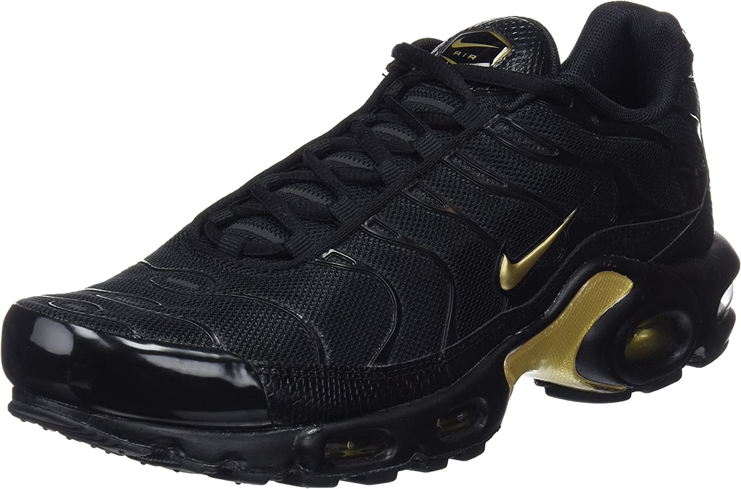 Nike Air Max Plus TN Sneaker Running Shoes RARITY blackgold