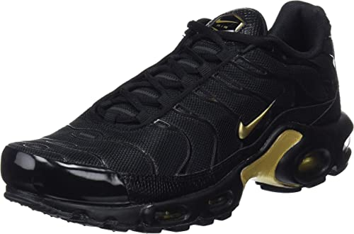 Disposto vuoto File  Amazon.com | Nike Air Max Plus TN Sneaker Running Shoes RARITY black/gold |  Shoes
