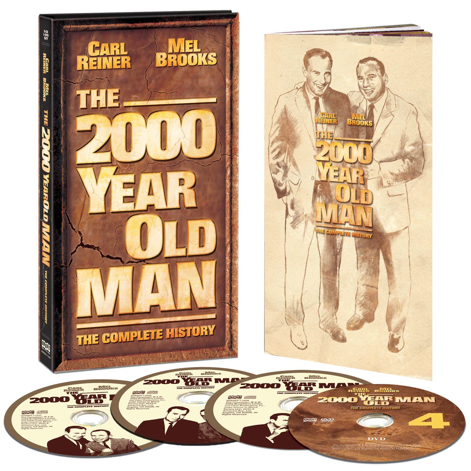 The 2000 Year Old Man: The Complete History by SHOUT! FACTORY