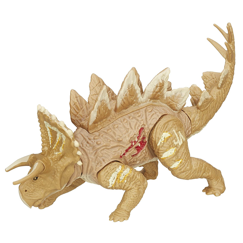 Promoción por tiempo limitado Jurassic World Bashers  Biters con Figura de estegosaurio
