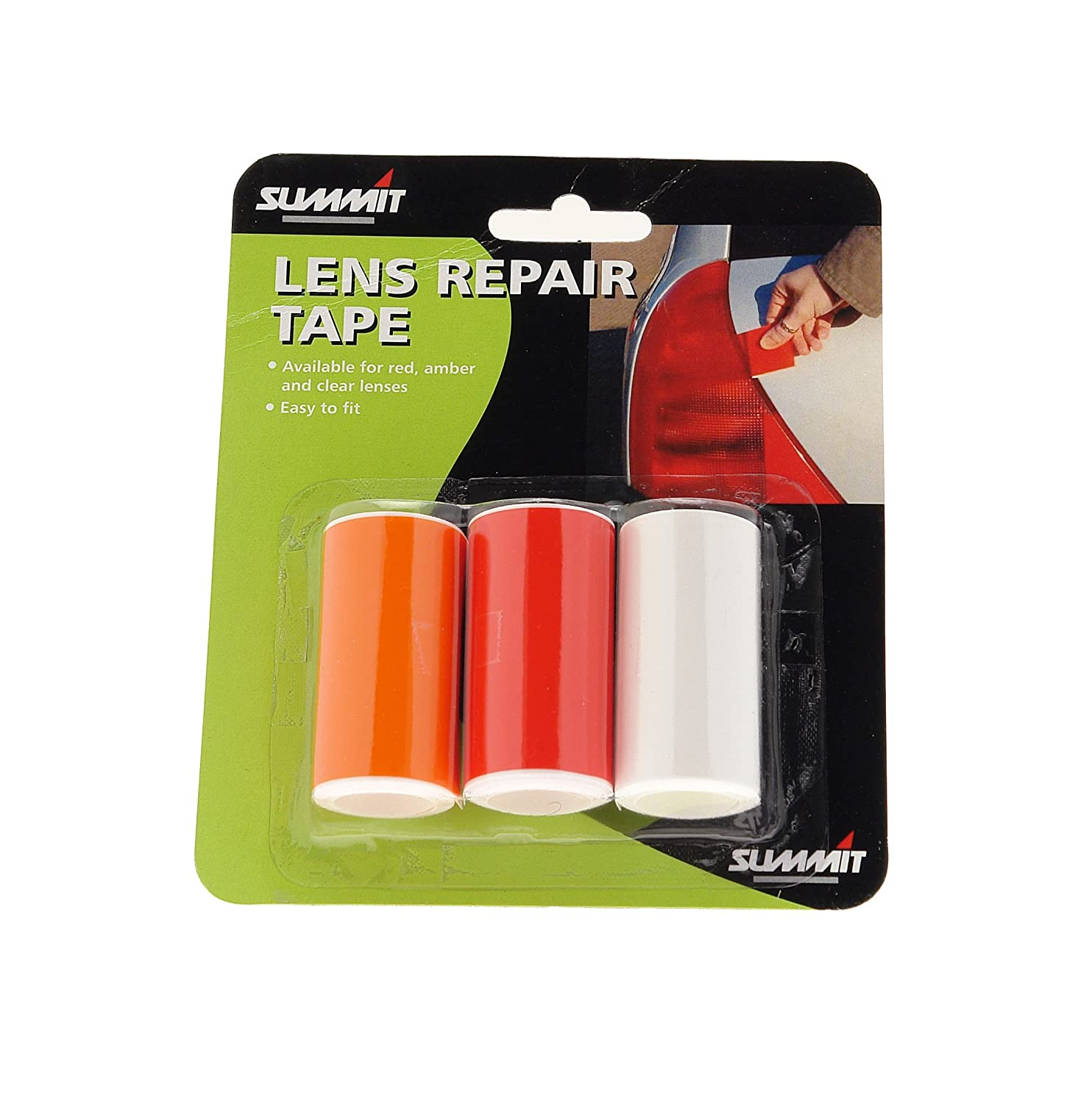 Summit lrt3 3 colours lens repair tape amazon car motorbike aloadofball Choice Image