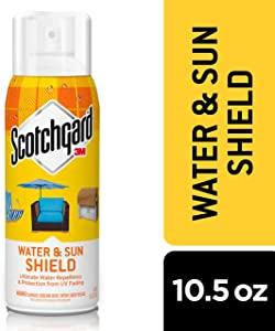 Scotchgard Water & Sun Shield, Ultimate Water Repellency & Protection from UV Fading, 10.5 Ounces