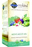 Garden of Life Multivitamin for Men - mykind Organic Men's 40+ Whole Food Vitamin Supplement, Vegan, 120 Tablets
