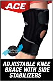 ACE Adjustable Knee Brace with Dual Side Stabilizers, Helps support weak, injured, arthritic or sore knee, Satisfaction…