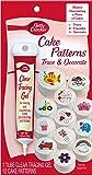 Betty Crocker Cake Decorating Pattern, 12 Patterns