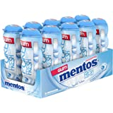 Mentos Pure Fresh Sugar-Free Chewing Gum with Xylitol, Sweet Mint, 15 Piece Bottle (Pack of 10)