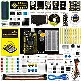 keyestudio Arduino用Mega2560スターターキット LCD、サーボ、ジョイスティック、リレー、モータ、超音波 Arduino STEM教育用