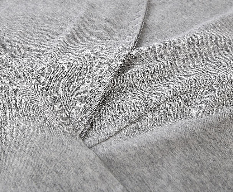 Manci Donna Premaman Top Cotone V Neck maternit/à Top pr/émaman T-Shirt Gravidanza Allattamento Top