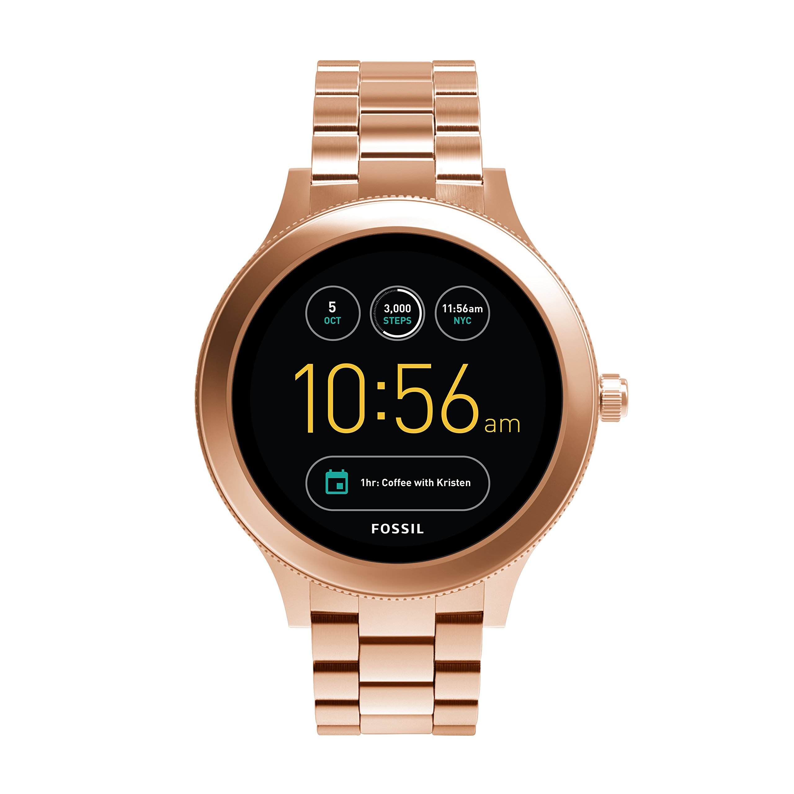 Fossil Gen 3 Smartwatch - Q Venture Rose Gold-Tone Stainless Steel FTW6000