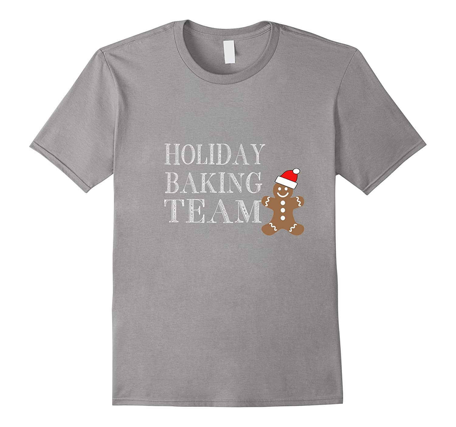 Holiday Baking Team Christmas T Shirt-azvn