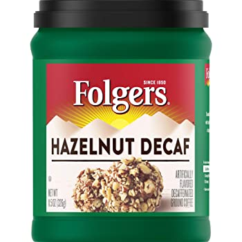 Folgers Decaf Hazelnut Coffee