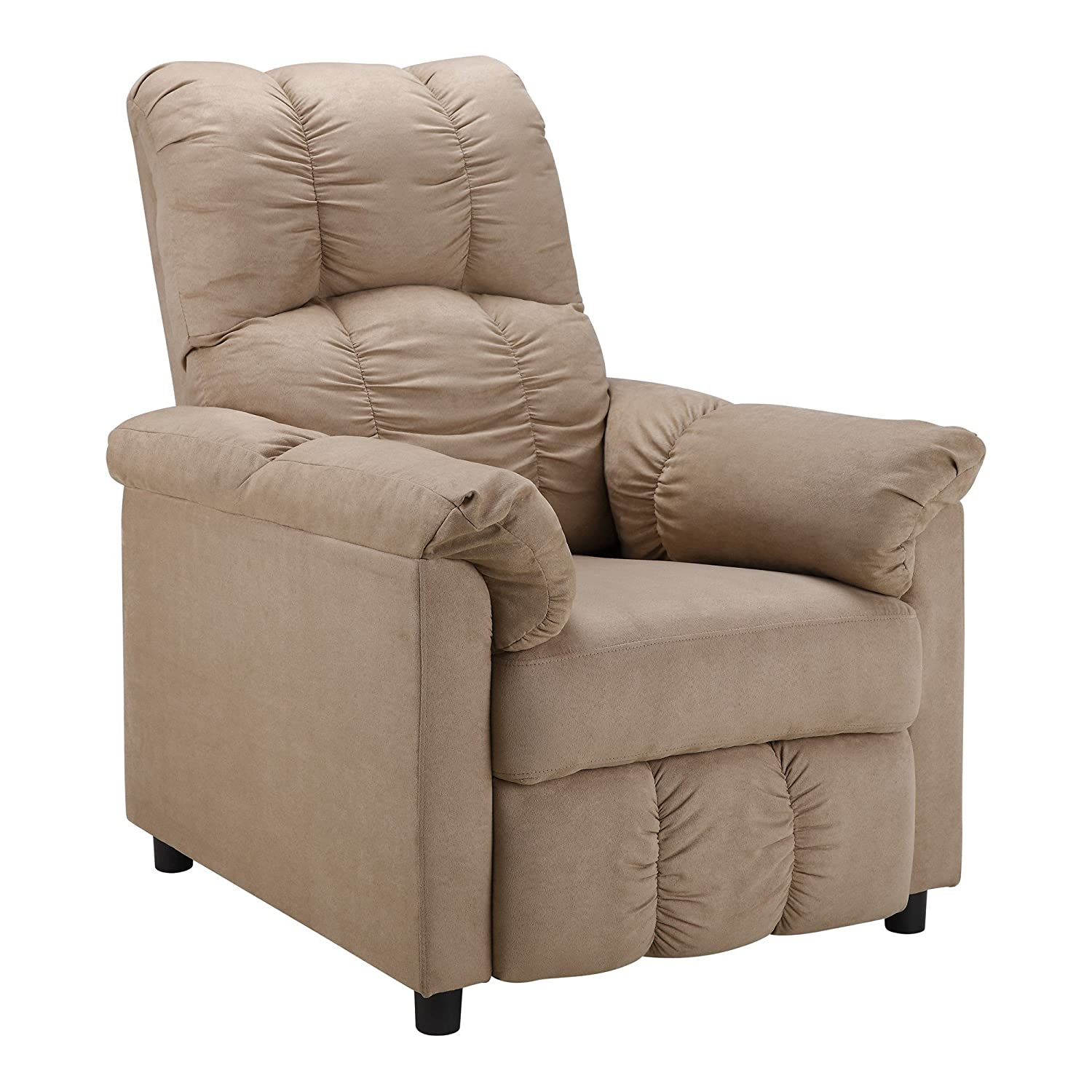 Amazon Dorel Living Slim Recliner Beige Kitchen & Dining