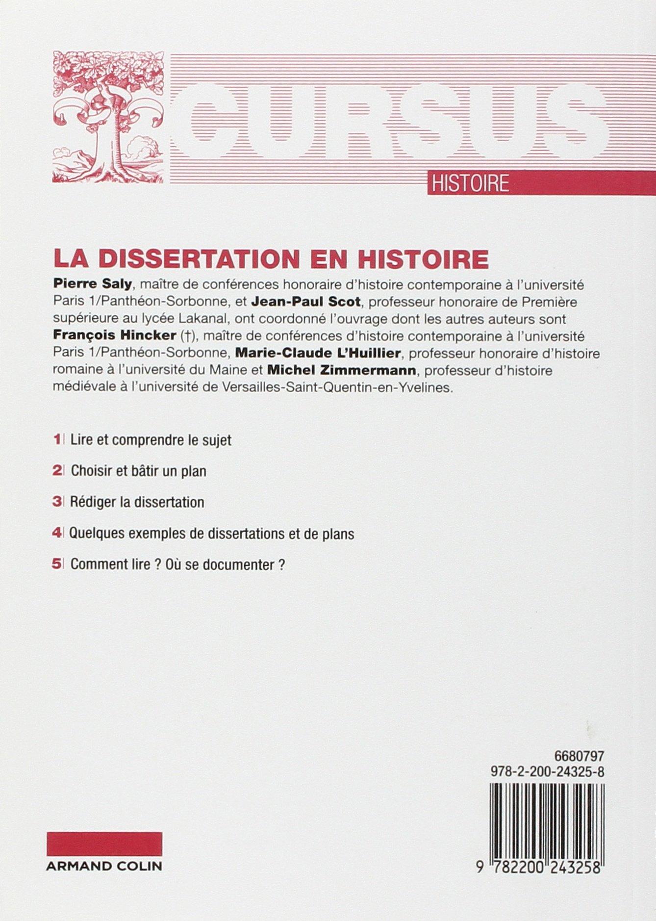 Introduction dissertation philo histoire