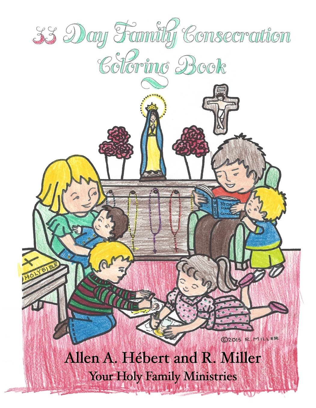 33 Day Family Consecration Coloring Book