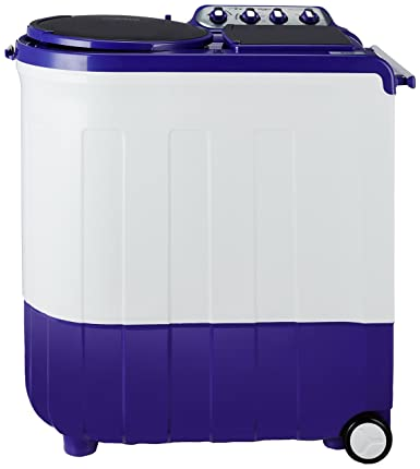 Whirlpool 8 kg Semi-Automatic Top Loading Washing Machine (Ace Turbodry 8.0, Coral Purple)