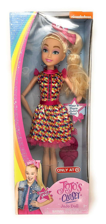 JoJos Closet On-Tour Musical Play Set Ropeastar JoJo Siwa Doll Play Set with JoJo Siwa Signature Hair Bow for Girls