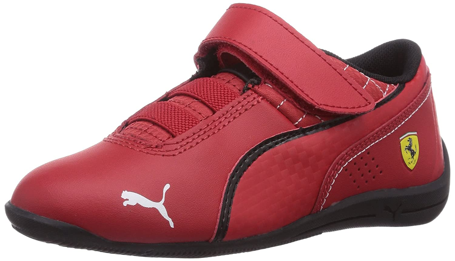 puma ladies shoes. puma girl\u0027s drift cat 6 l sf v kids rosso corsa-rosso corsa-bk leather chinese shoes - 13 uk: buy online at low prices in india amazon.in ladies