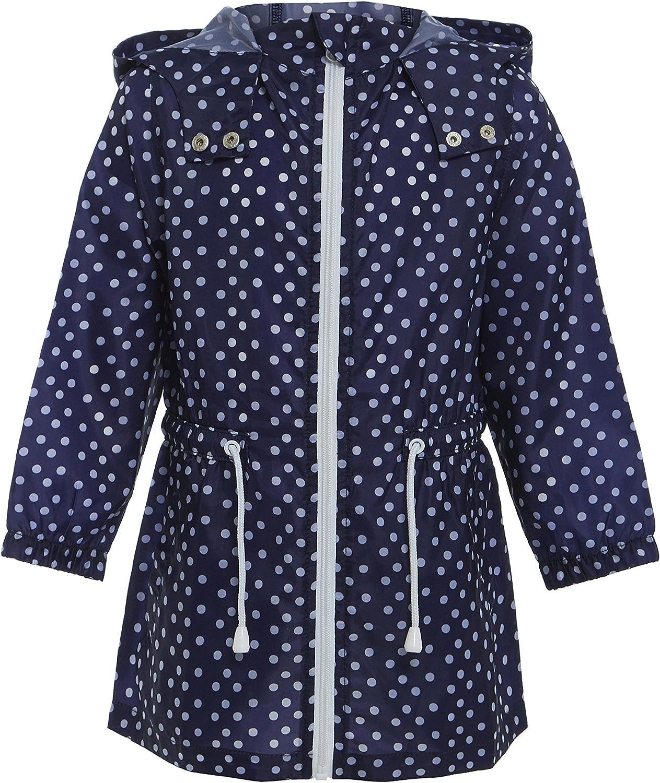 Boys Hooded Printed Raincoat Toddlers Novelty Kagool Kag Waterproof Rain Coat