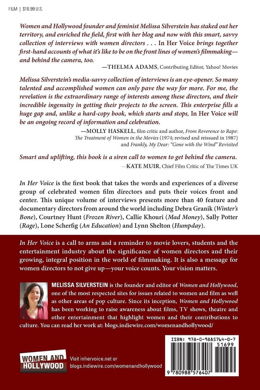 In Her Voice: Women Directors Talk Directing (Volume 1): Melissa