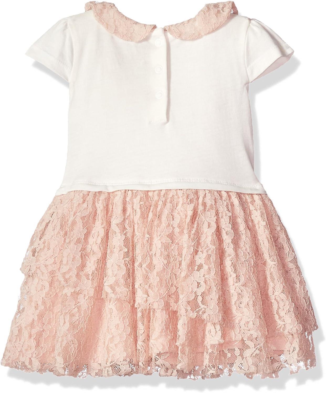 Guess Baby Girls Floral Ruffle Dress