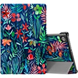 CaseBot Case for Lenovo Tab M10 Plus, Lightweight Slim Shell Stand Cover with Auto Sleep/Wake for Lenovo Tab M10 Plus TB…