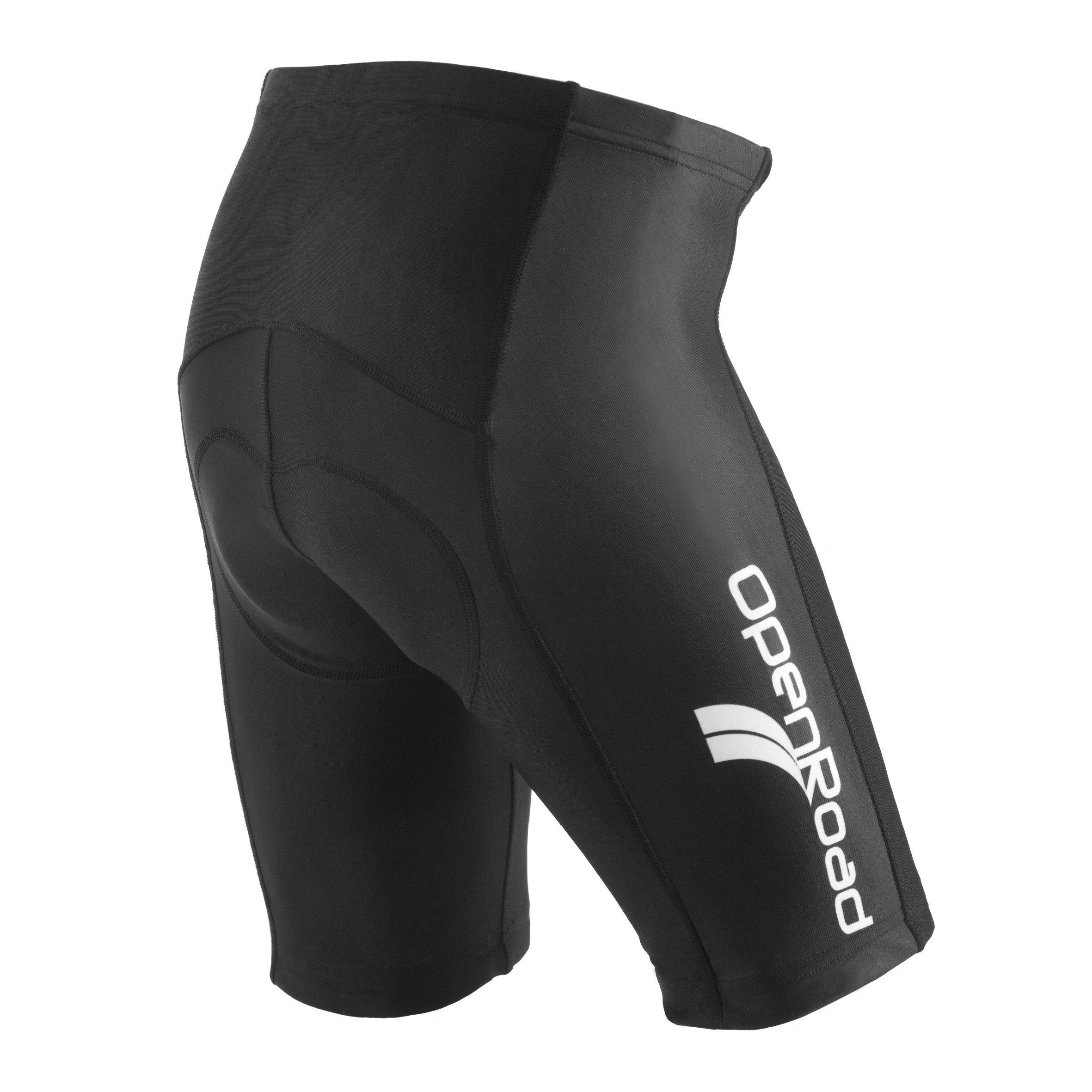f3c2495ab1e4 OpenRoad Gel Mens Imbottiti Pantaloncini da Ciclista Bici della Strada  product image