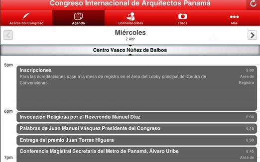 Amazon.com: Congreso de Arquitectos Panama: Appstore for Android