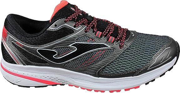 Joma Speed Men 2012 Gris - Zapatillas Running Hombre Cordones: Amazon.es: Zapatos y complementos