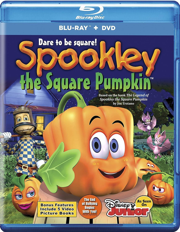 amazon com spookley the square pumpkin combo blu ray none
