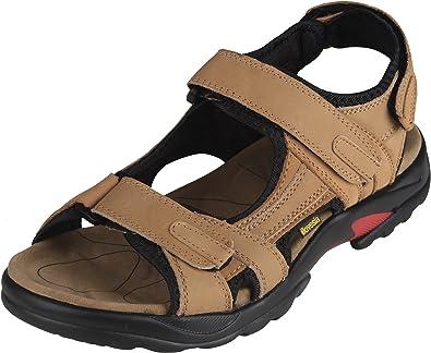 Amazon.com | iloveSIA Mens Leather Sandals Athletic Outdoor Shoes Hiking  Sandals | Sport Sandals & Slides