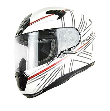 Origine Helmets Casco Moto, Color blanco, talla M