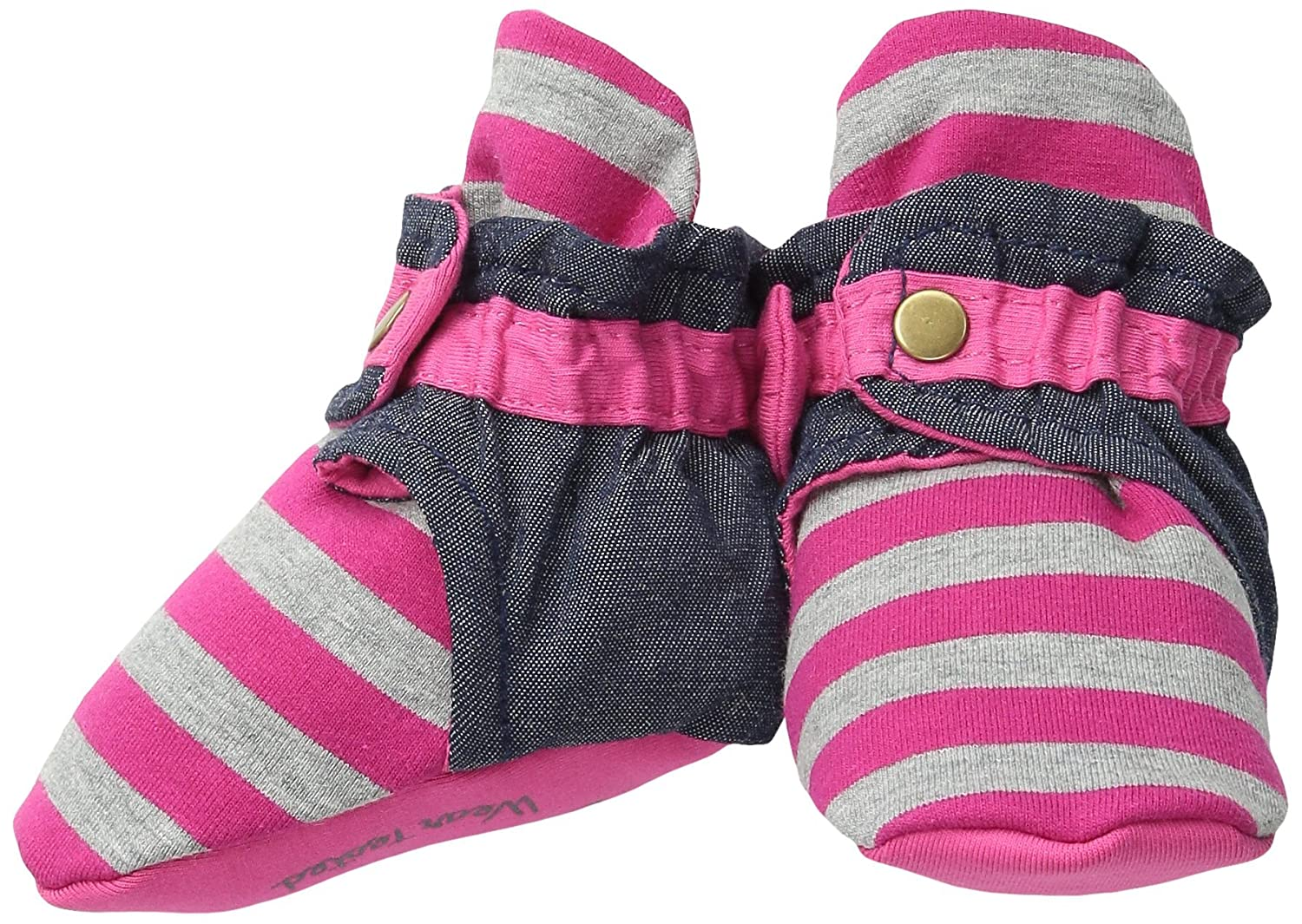 trimfit Baby Infant Girls 1-Pack Strawberries Booties W//Clasp