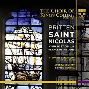 Britten, St. Nicolas Et Al. Standard Cdsacd