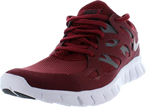 Nike Free Run 2 Mens Running Trainers Team Red Black Uk6 Amazon Co Uk Shoes Bags