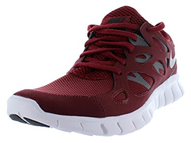 tout neuf 69ff6 c22bc Nike - Baskets Running Modèle Free Run 2 Homme Rouge/Noir ...