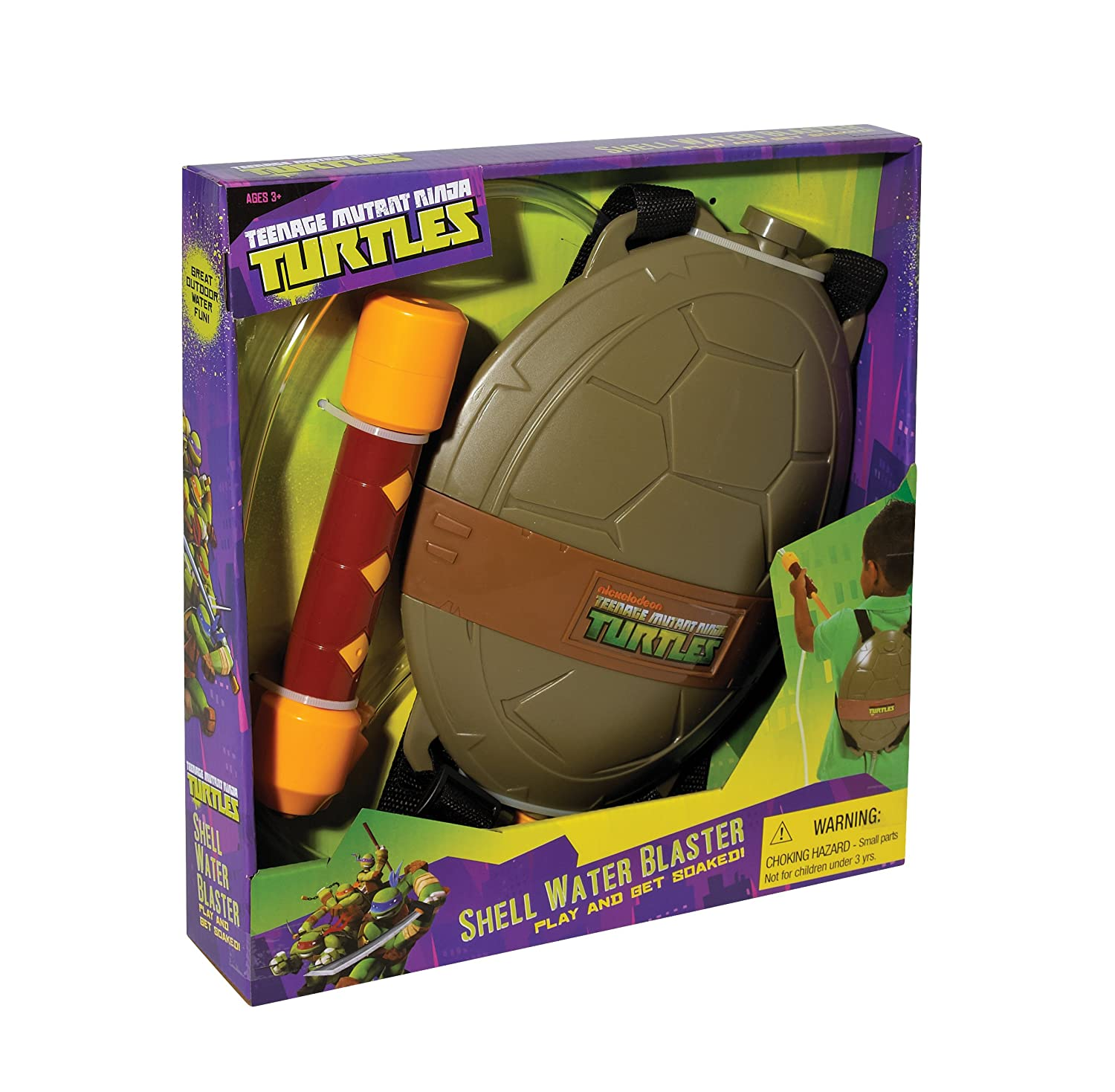 Little Kids Teenage Mutant Ninja Turtles Shell Water Blaster ...