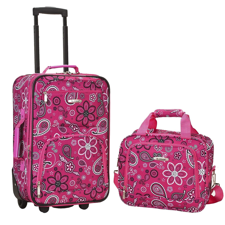 Rockland Luggage 2 Piece Printed Luggage Set