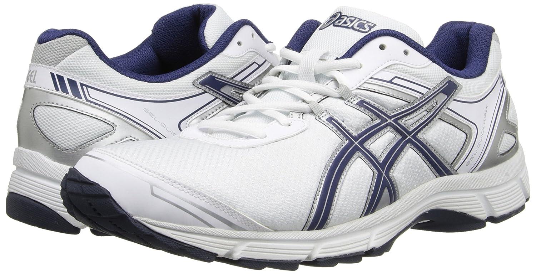 Amazon.com | Asics Men's Gel-Quickwalk 2 Walking Shoe, White/Navy/Silver,  7.5 M US | Walking