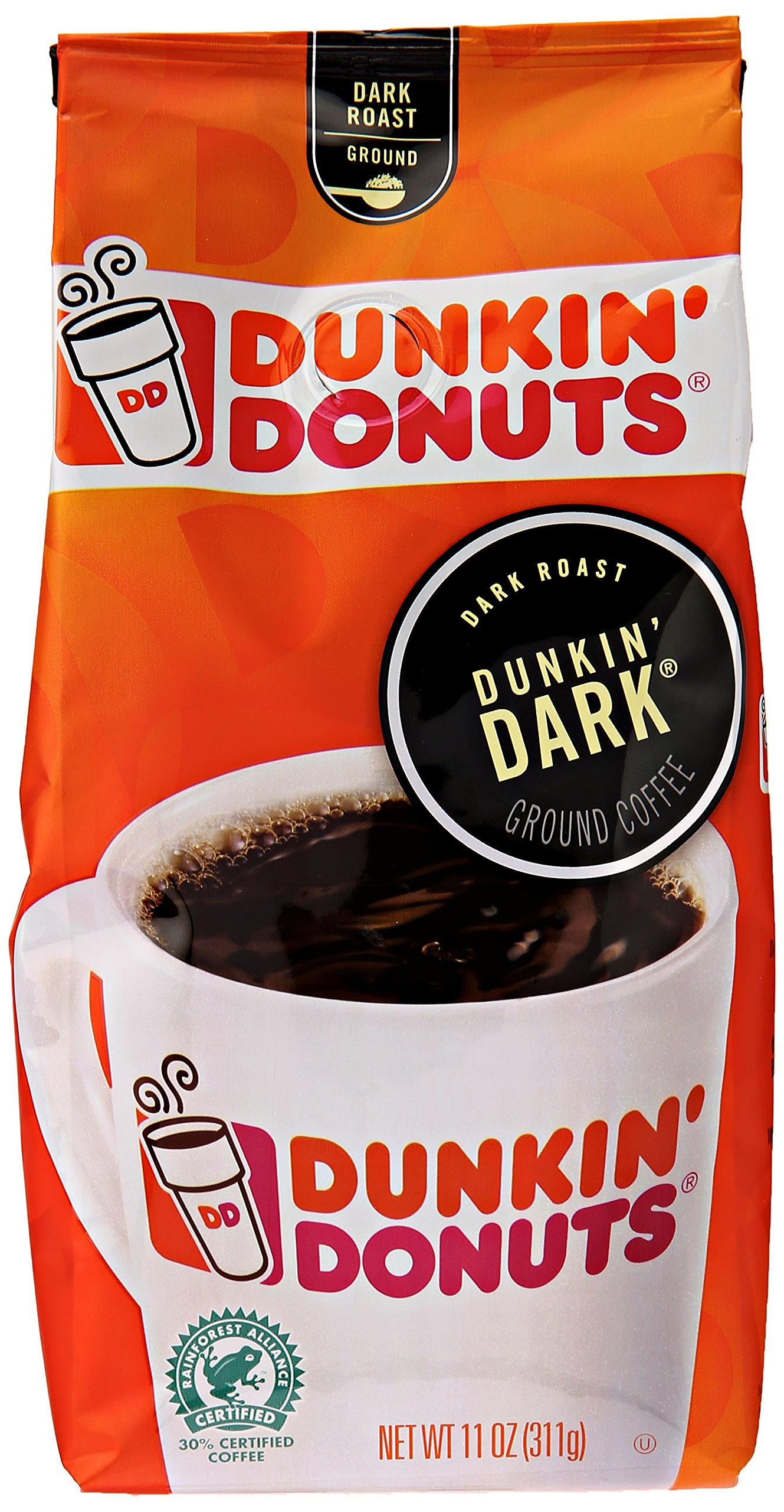 dunkinu0027 donuts dunkinu0027 dark ground coffee dark roast