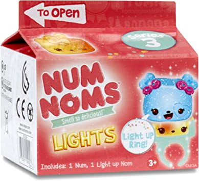 MGA Num Noms Lights Mystery Pack Series 3: Juguetes y juegos - Amazon.es