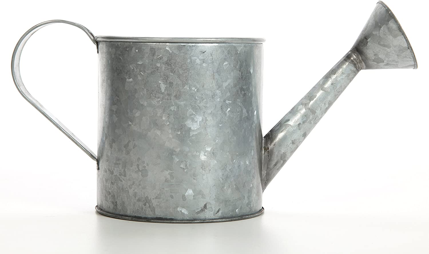 Hosley 7 Inch High Galvanized Large Watering Can. Ideal Gift for Weddings Parties Craft DYI Spa Dried Flower Arrangements Outside Garden Planter for Decorative onlyO4