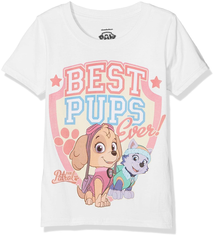 Paw Patrol Best Pups Ever Camiseta, Rosa (Light Pink), 3-4 Años ...