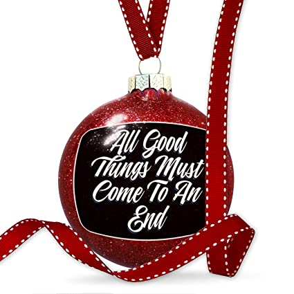 Amazon Com Neonblond Christmas Decoration Classic Design All Good