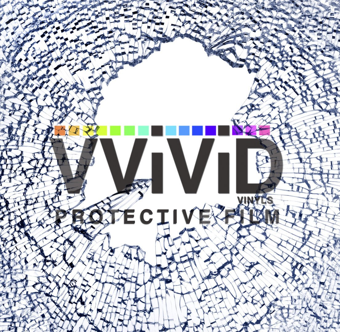 VViViD 12 Mil Clear Safety Window Film 30'' Wide x 10 ft Roll