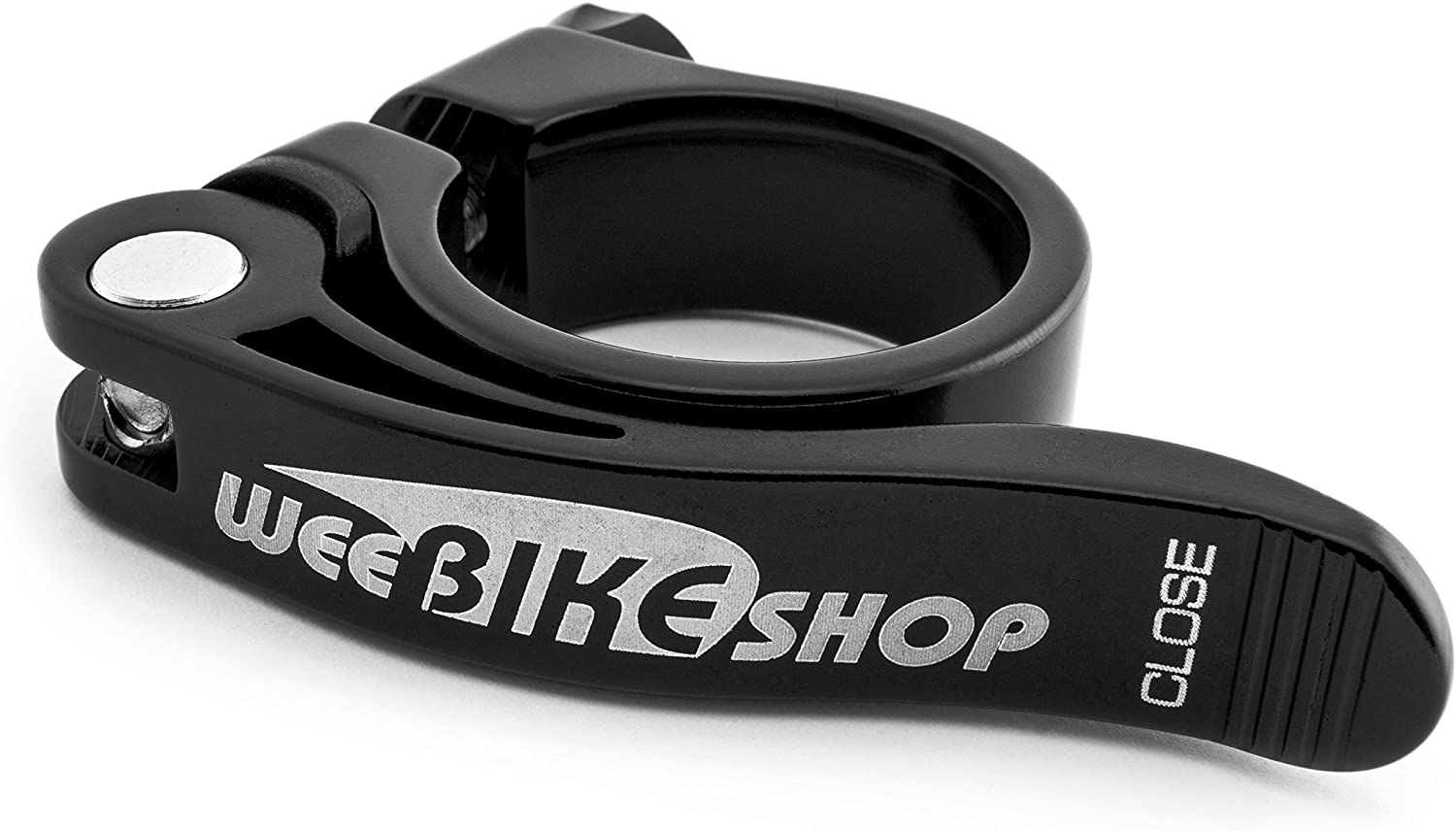 Pro Force QR Extra Long Leverage Bicycle Seat Post Clamp 34.9mm Black NEW